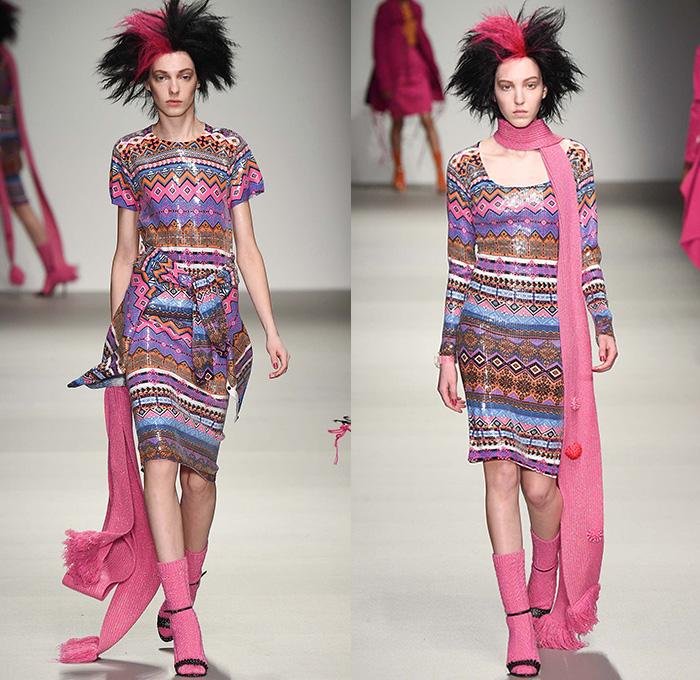 Knitting Fashion 2015 : Sibling  fall autumn winter runway looks denim