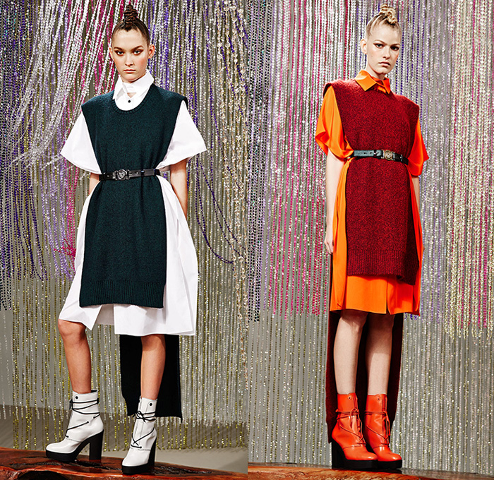 Kenzo 2015 Pre Fall Autumn Womens Lookbook Presentation