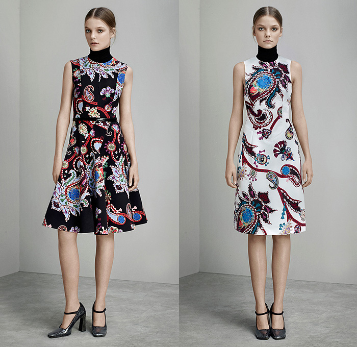 Mary Katrantzou 2015 Pre Fall Autumn Womens Presentation
