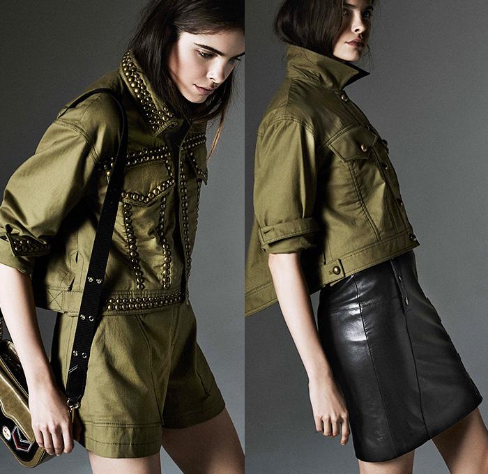 Rebecca Minkoff 2015 Pre Fall Autumn Womens Presentation Denim Jeans Fashion Week Runway