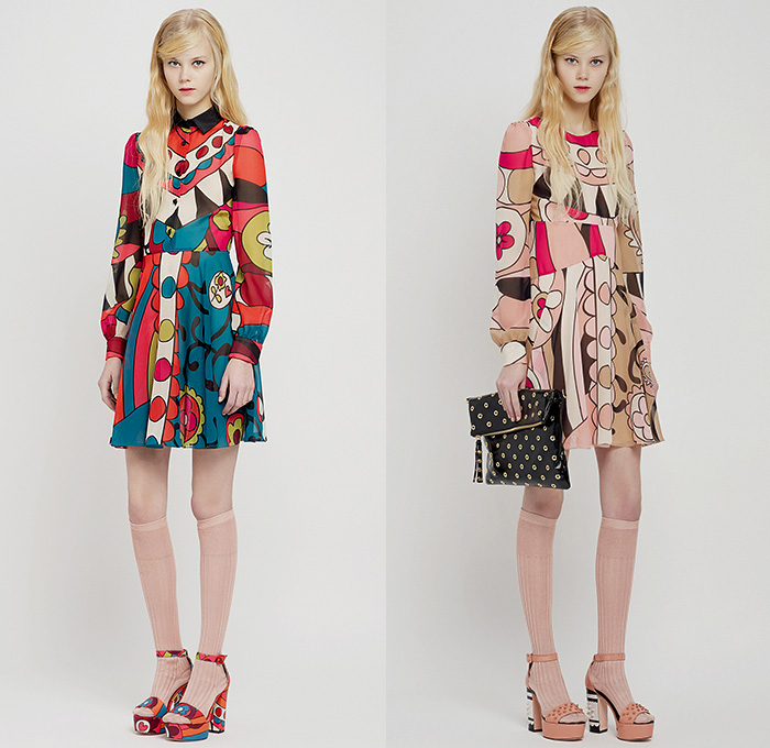 Red Valentino 2015 Pre Fall Autumn Womens Looks