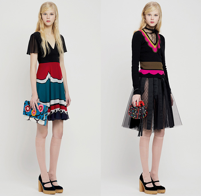 Red Valentino 2015 Pre Fall Autumn Womens Looks ...