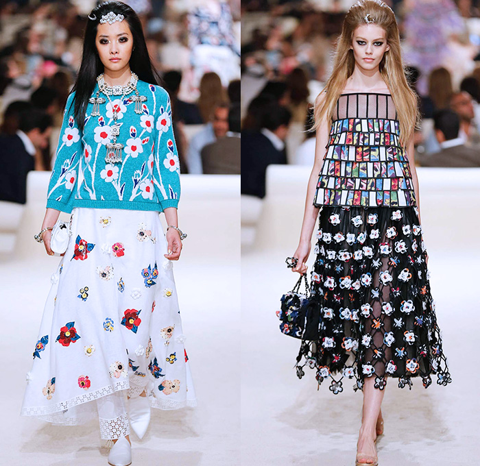 Chanel 2015 Cruise Womens Runway Collection Denim Jeans Fashion Week Runway Catwalks