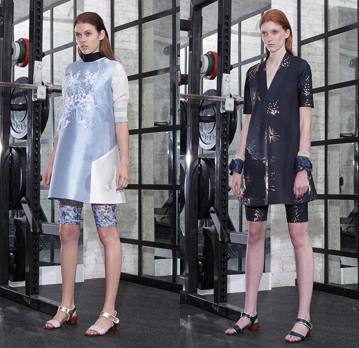 Cynthia Rowley 2015 Resort Womens Looks Denim Jeans