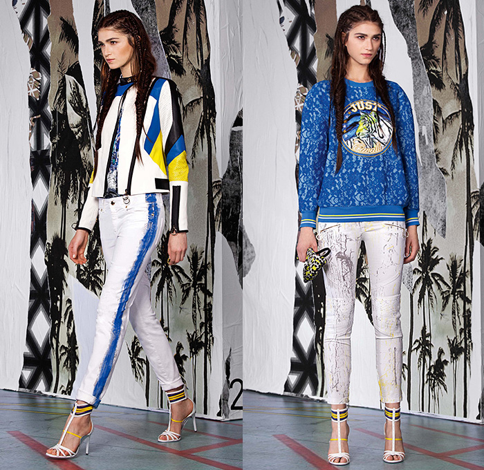 Just Cavalli 2015 Resort Womens Lookbook Presentation