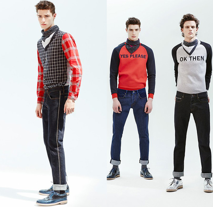 Marc by Marc Jacobs 2015 Resort Mens Looks | Denim Jeans ...