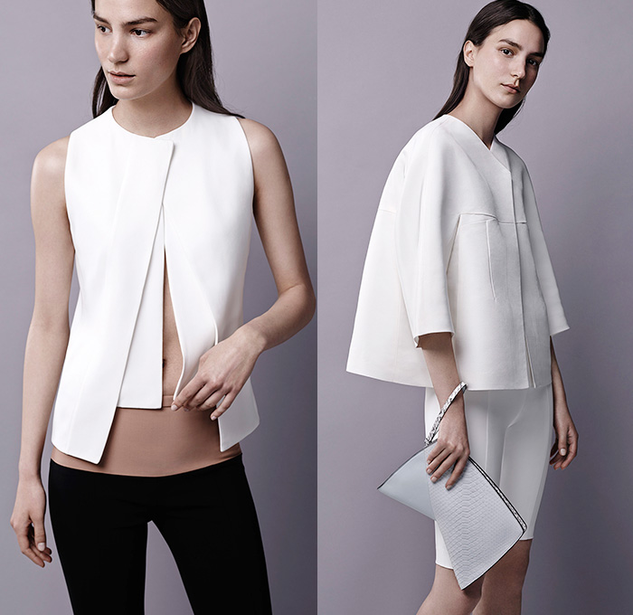 Narciso rodriguez 2015 resort womens lookbook presentation for Minimalist look