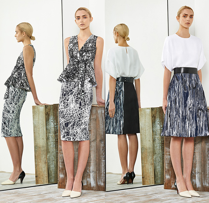 Sportmax 2015 Resort Womens Lookbook Presentation Denim Jeans Fashion Week Runway Catwalks