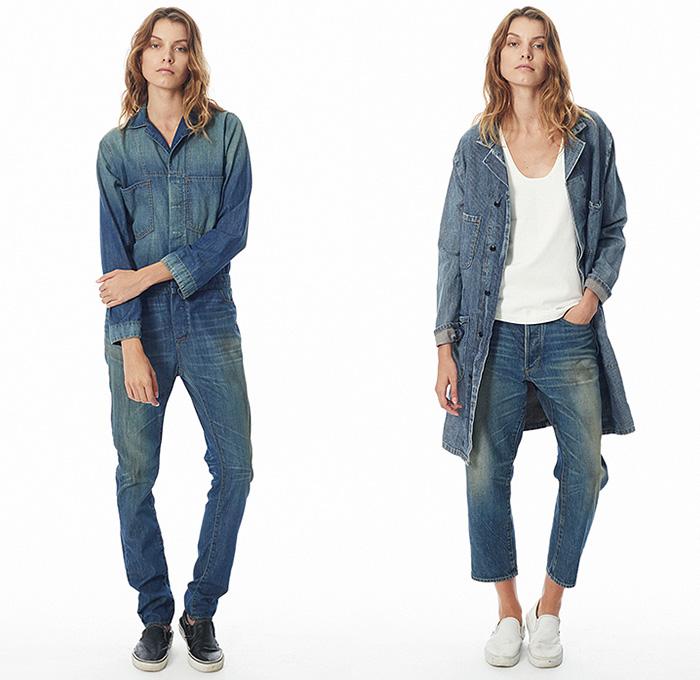 c2e1051f38 ... 6397-stella-ishii-new-york-fashion-week-2015-spring-summer-womens-denim- jeans-jumpsuit-boiler-suit-coat-railroad-stripes-tunic-shirtdress-jogging-01x.  ...