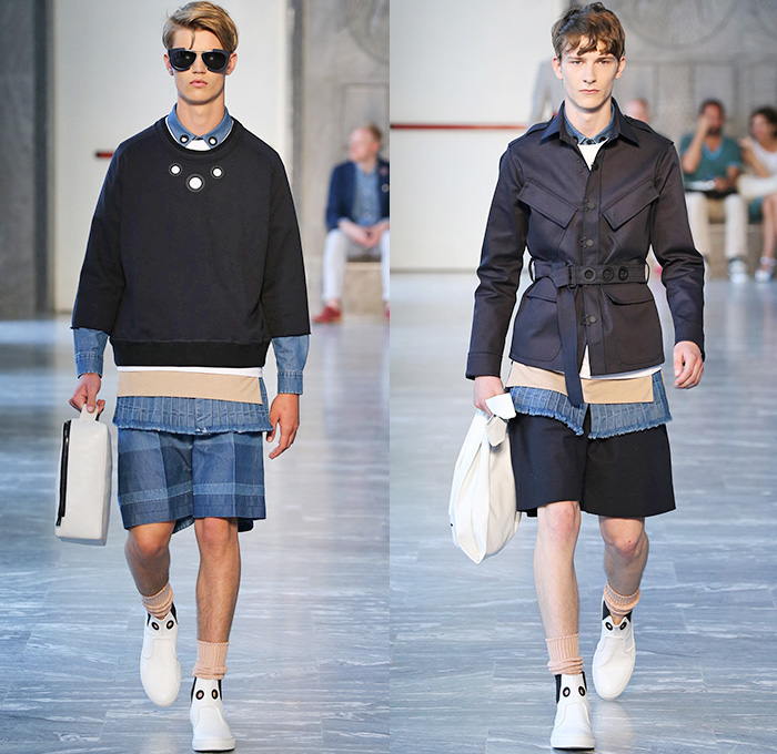 Andrea Pompilio 2015 Spring Summer Mens Runway Looks | Denim Jeans ...