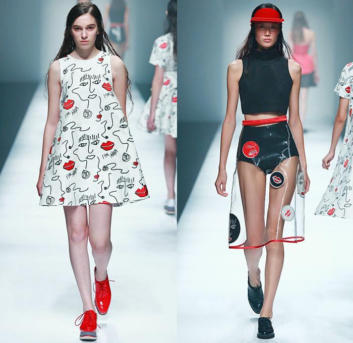 Annakiki 2015 Spring Summer Womens Runway Denim Jeans