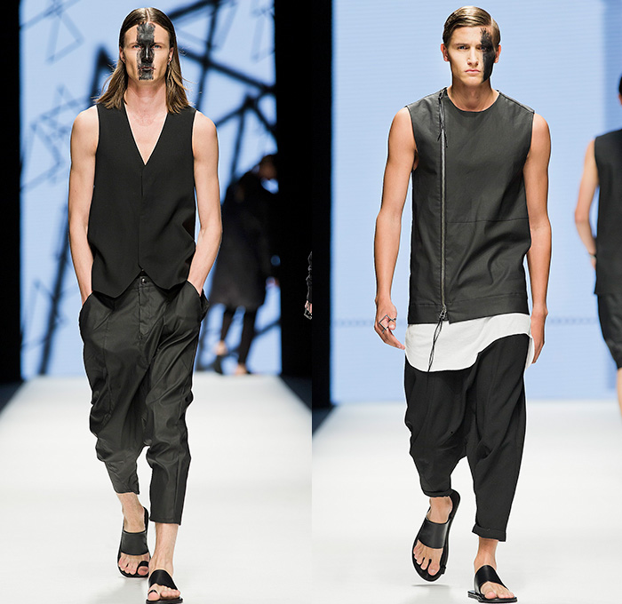 Army Of Me 2015 Spring Summer Mens Runway Looks Denim Jeans Fashion Week Runway Catwalks