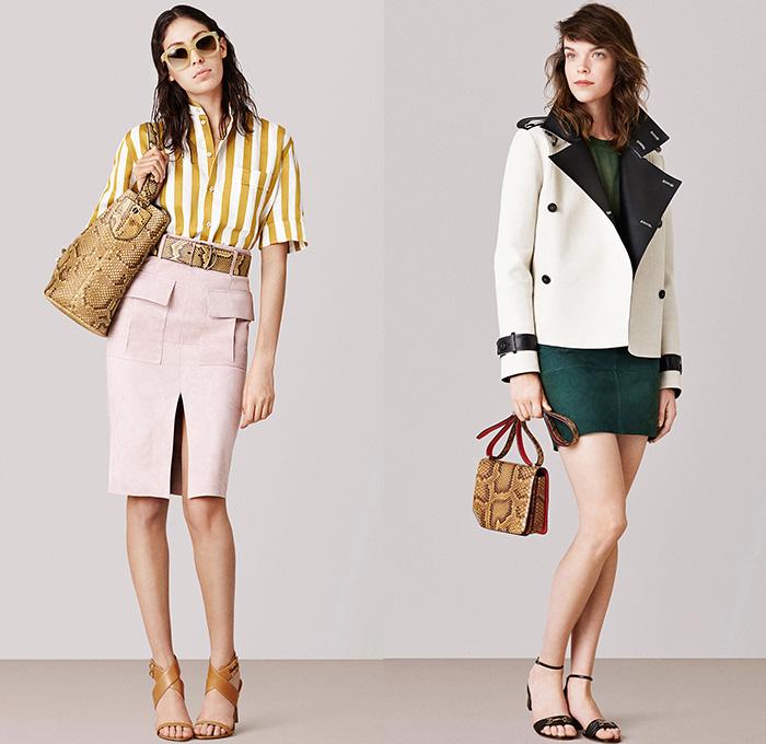 Bally 2015 spring summer womens presentation denim jeans for Design della moda milano