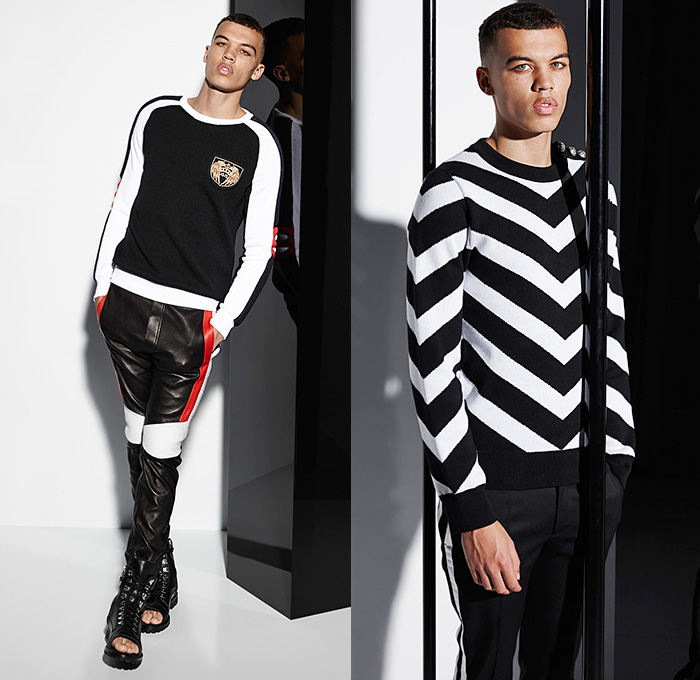 Balmain 2015 Spring Summer Mens Looks Denim Jeans