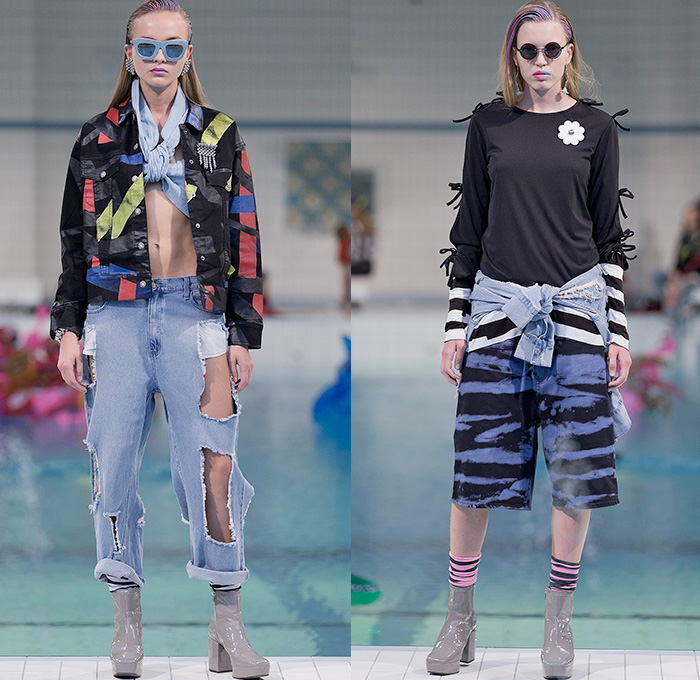 Cheap Monday 2015 Spring Summer Womens Runway Denim
