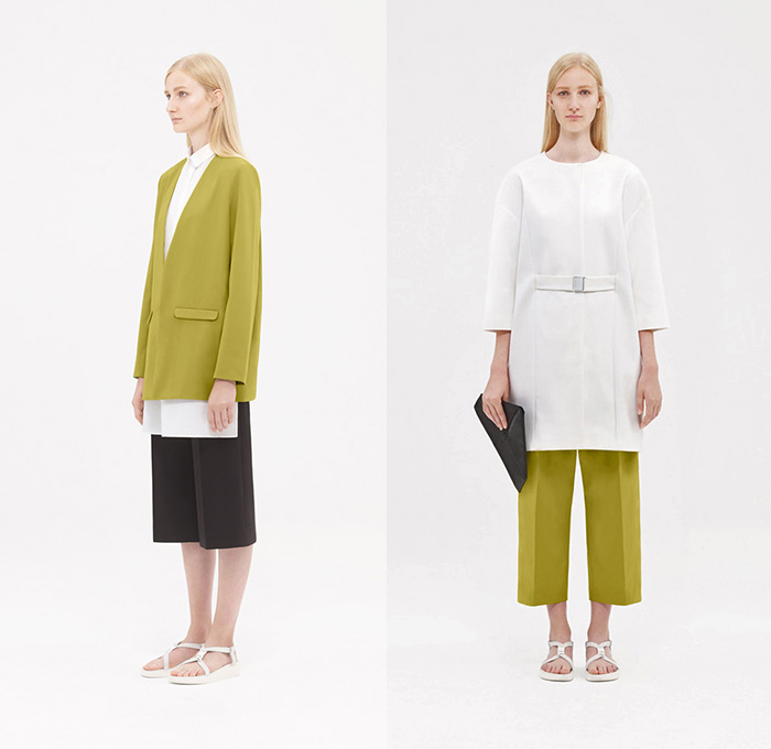 Cos 2015 spring summer womens lookbook presentation collection of