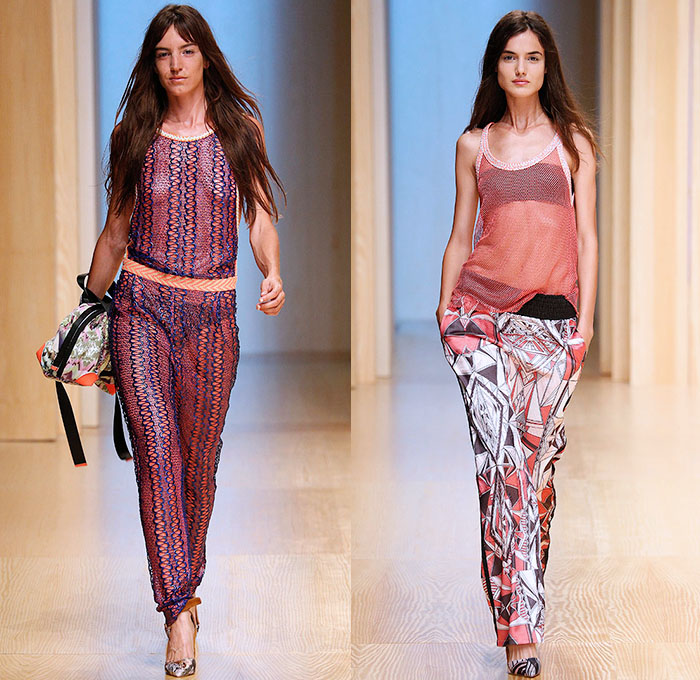 Custo Barcelona 2015 Spring Summer Womens Runway Denim