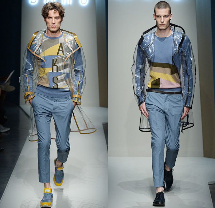 Daks London 2015 Spring Summer Mens Runway Denim Jeans