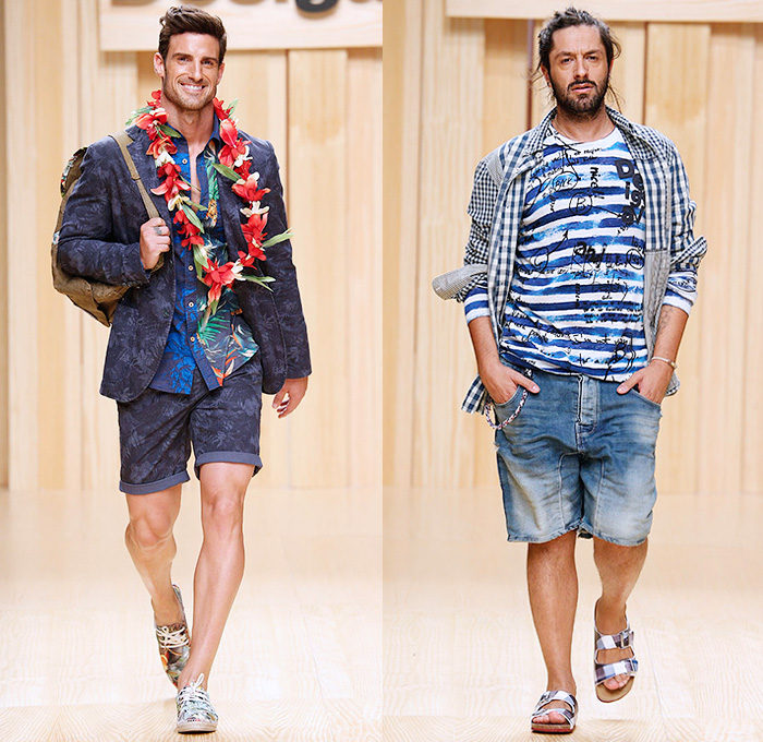 Desigual 2015 Spring Summer Mens Runway | Denim Jeans Fashion Week ...