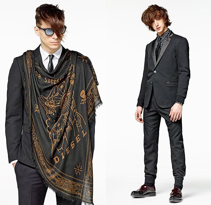 2017 ss fashion trend - Diesel 2015 Spring Summer Mens Lookbook Denim Jeans