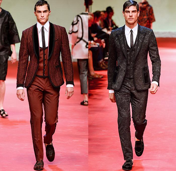 Dolce Amp Gabbana 2015 Spring Summer Mens Runway Denim