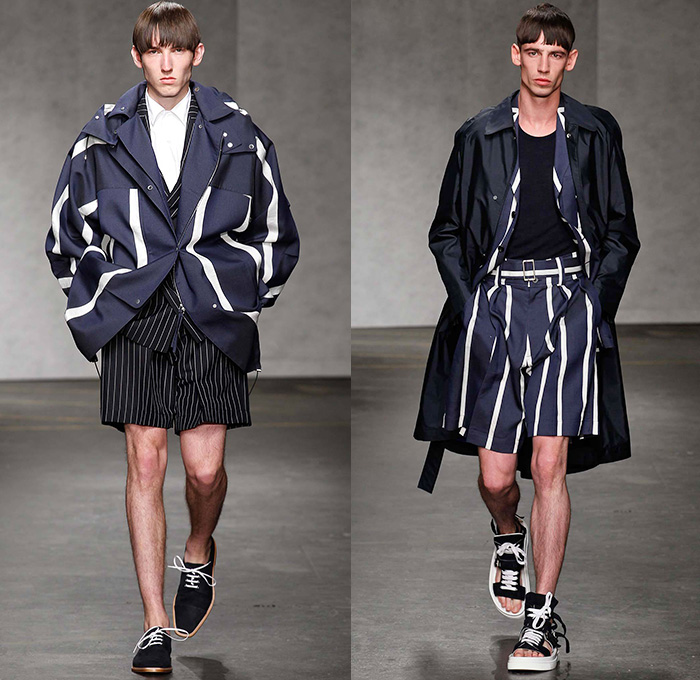 E Tautz 2015 Spring Summer Mens Runway Looks Denim