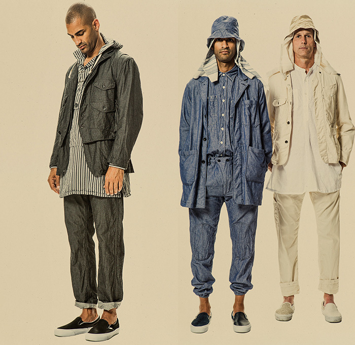 Engineered Garments 2015 Spring Summer Mens Looks Denim