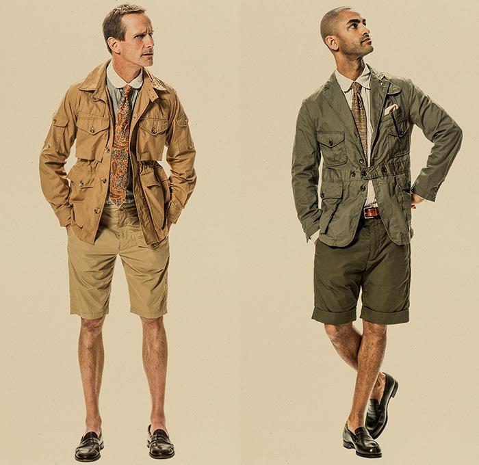 Engineered Garments 2015 Spring Summer Mens Looks Denim