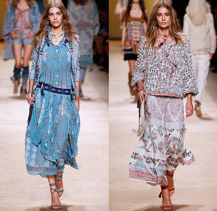 Etro 2015 Spring Summer Womens Looks Denim Jeans Fashion