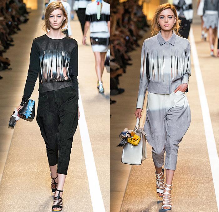 Fendi 2015 Spring Summer Womens Runway Denim Jeans