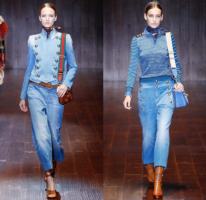 Gucci 2015 Spring Summer Womens Runway Looks - Milano Moda Donna Collezione  Fashion Week Italy - af846ca79