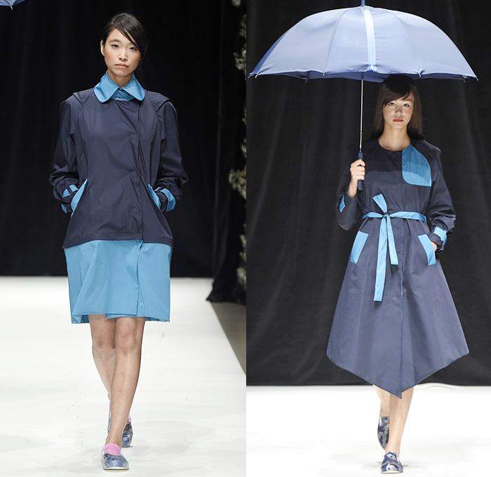 Haha By Takafumi Tsuruta 2015 Spring Summer Womens Looks Denim Jeans Fashion Week Runway
