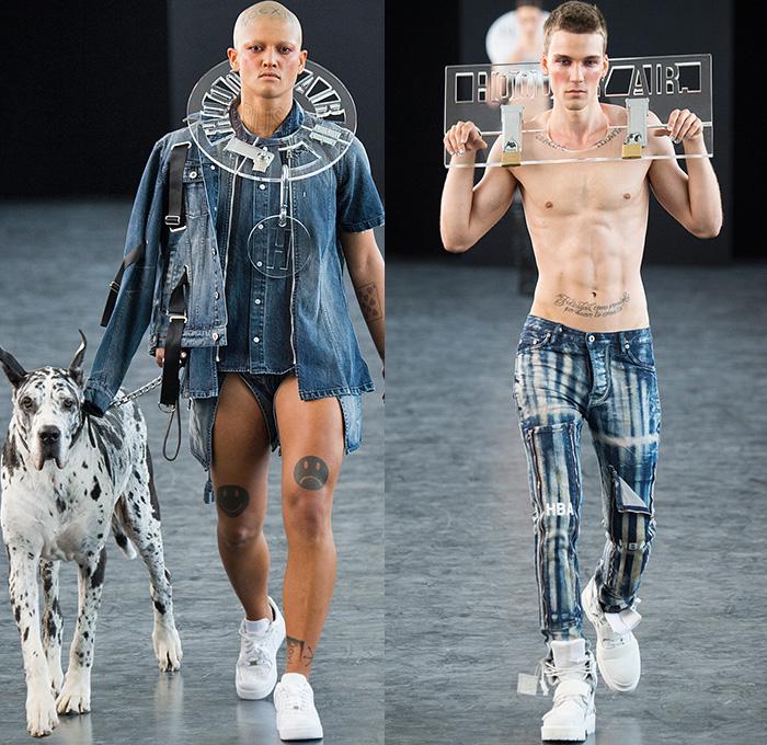 Destroyed Denim Jeans Mens