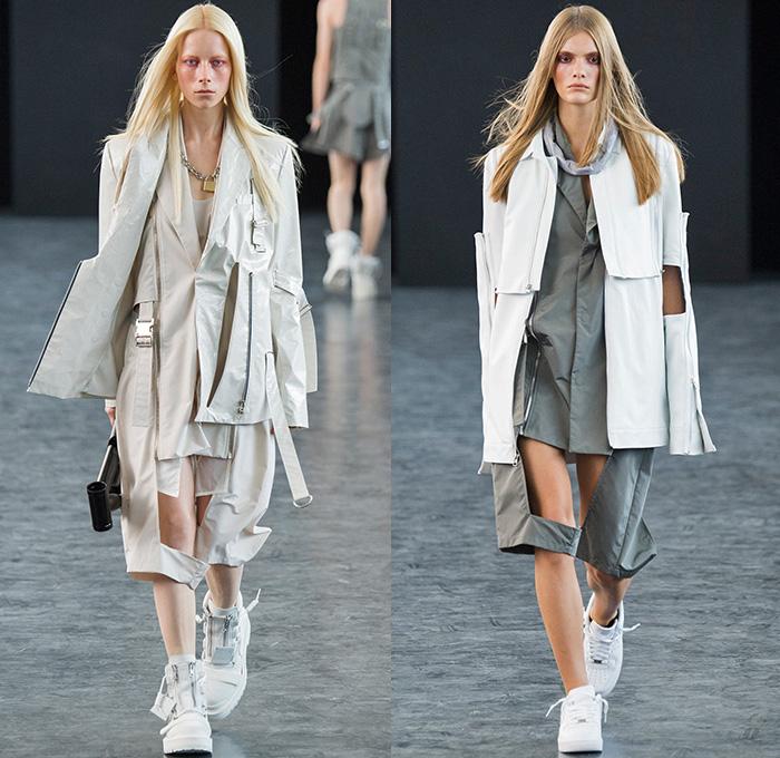 hood by air 2015 spring summer womens runway denim jeans