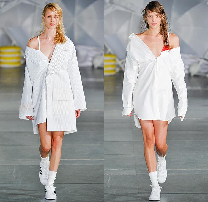 Womens Long Denim Shirt Dress