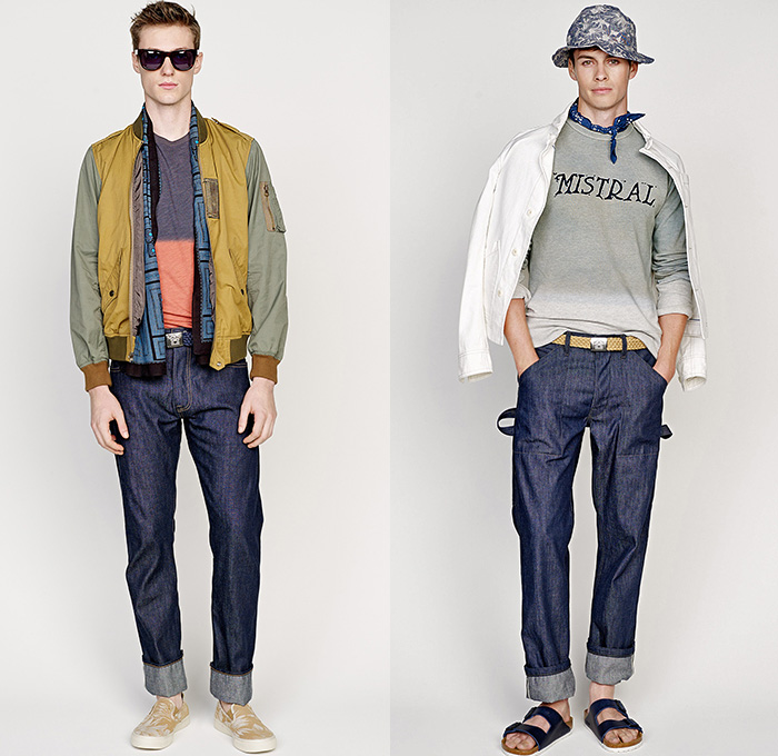 J Crew 2016 Spring Summer Mens Looks Denim Jeans Fashion Week 2e4292b7073