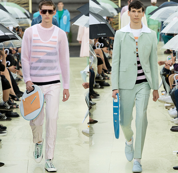 Kenzo 2015 Spring Summer Mens Runway Denim Jeans Fashion