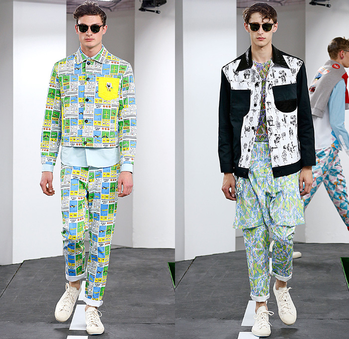 Kit Neale 2015 Spring Summer Mens Runway Looks Denim Jeans Fashion Week Runway Catwalks