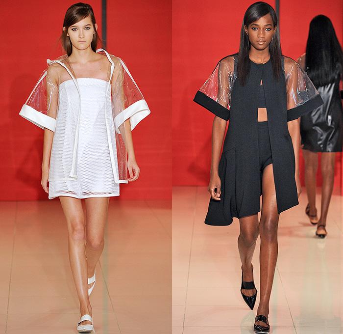 Lisa Perry 2015 Spring Summer Womens Runway Denim Jeans