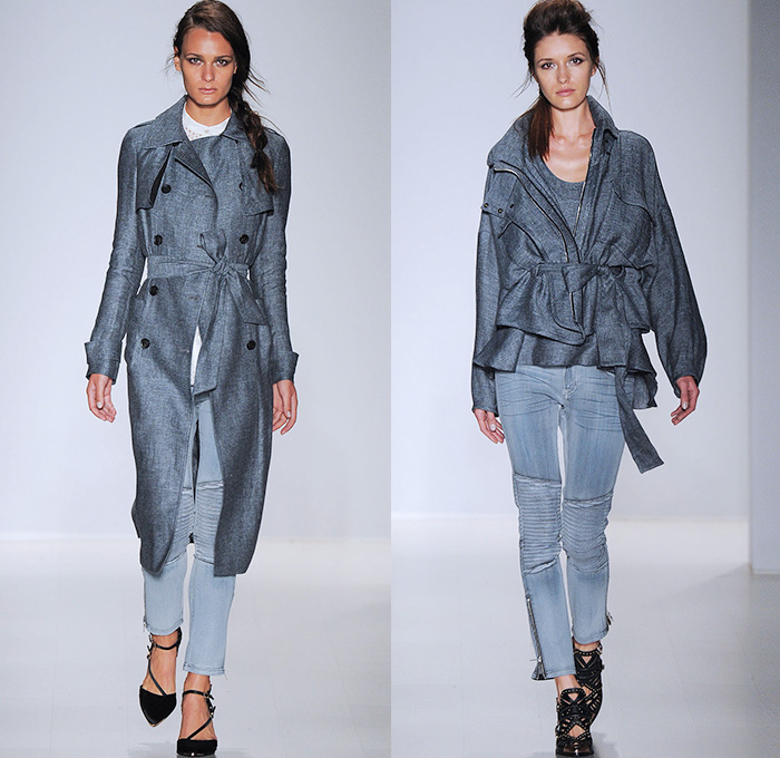 Marissa Webb 2015 Spring Summer Womens Runway Denim