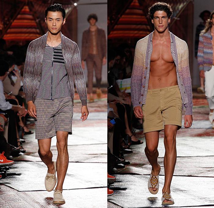 Missoni 2015 Spring Summer Mens Runway Looks - Milano Moda Uomo Collezione  Milan Fashion Week Italy 136fac393c0