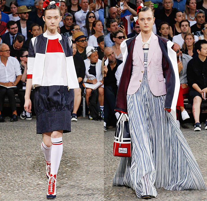Moncler Gamme Bleu 2015 Spring Summer Womens Runway Looks - Milano Moda Uomo Collezione Milan Fashion