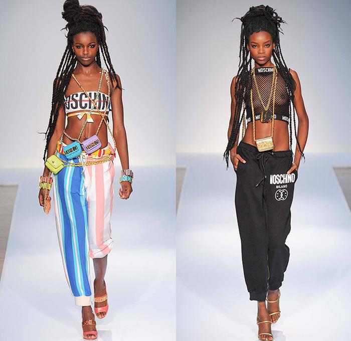 Moschino 2015 Spring Summer Womens Runway Denim Jeans