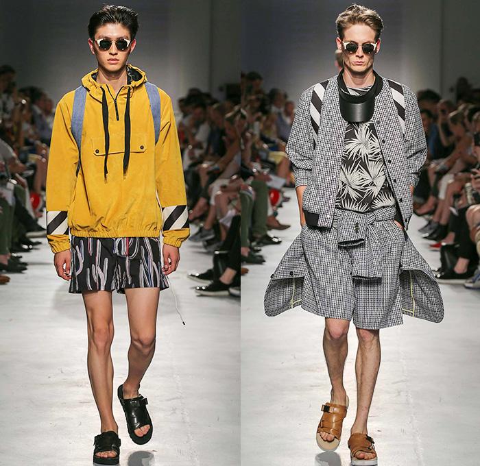 Msgm 2015 spring summer mens runway looks denim jeans for Design della moda milano