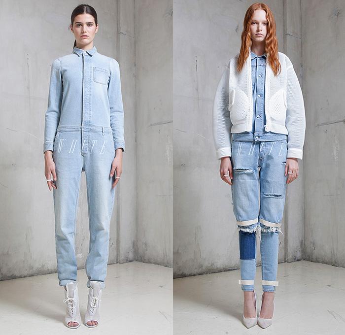 Off-White c/o Virgil Abloh 2015 Spring Summer Womens | Denim Jeans ...
