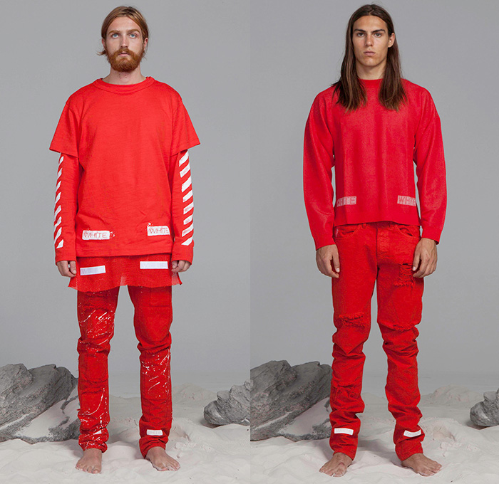 Off-White c/o Virgil Abloh 2015 Spring Summer Mens Looks | Denim ...