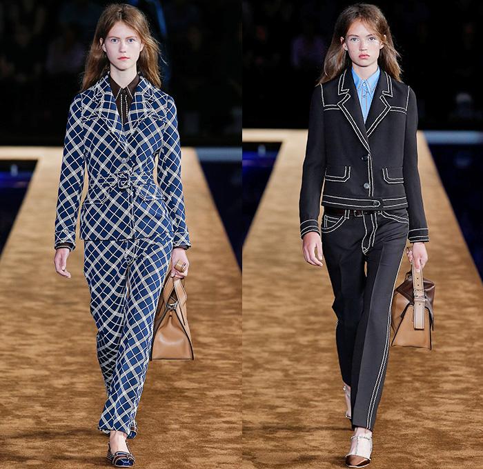 Prada 2015 Spring Summer Womens Looks | Denim Jeans Fashion Week ...