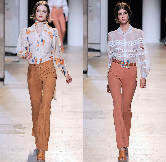 1960s 1970s Preview 2015 Spring Summer Womens Fashion