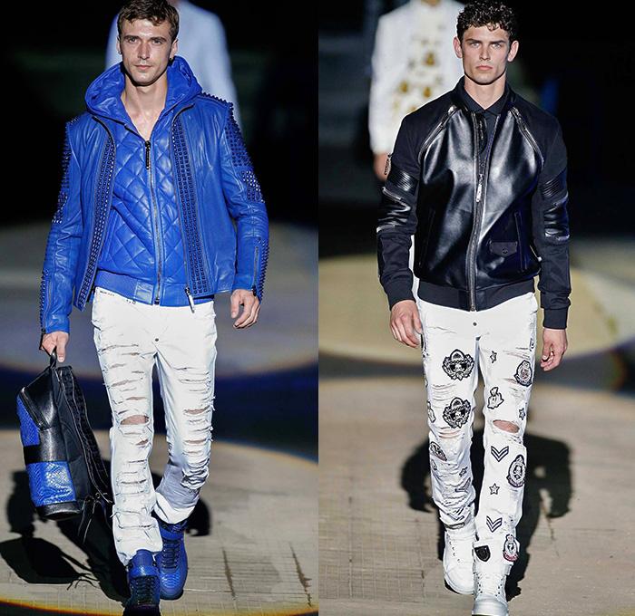 Philipp Plein 2015 Spring Summer Mens Denim Jeans