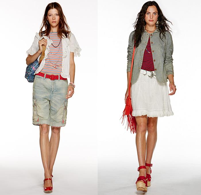 4895e285c Polo Ralph Lauren 2015 Spring Summer Womens Lookbook Presentation - New  York Fashion Week - Denim